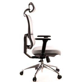 Компьютерное кресло для руководителя Everprof Everest S сетка серый, Цвет товара: Серый, изображение 4