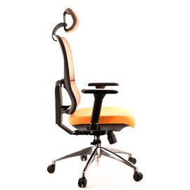 Компьютерное кресло для руководителя Everprof Everest S сетка оранжевый, Цвет товара: Оранжевый, изображение 4
