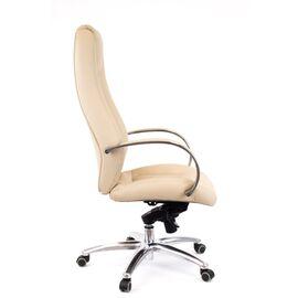 Компьютерное кресло для руководителя Everprof Drift Full AL M кожа бежевый, Цвет товара: Бежевый, изображение 2