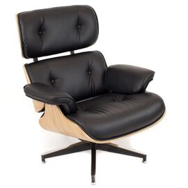 Кресло Relax с оттоманкой Everprof экокожа черный, изображение 2