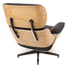 Кресло Relax с оттоманкой Everprof экокожа черный, изображение 4
