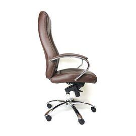 Компьютерное кресло для руководителя Everprof Kron M кожа коричневый, Цвет товара: Коричневый, изображение 3