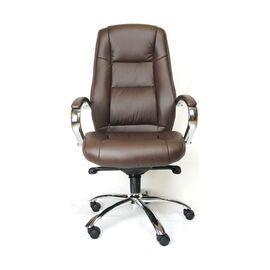 Компьютерное кресло для руководителя Everprof Kron M кожа коричневый, Цвет товара: Коричневый, изображение 2