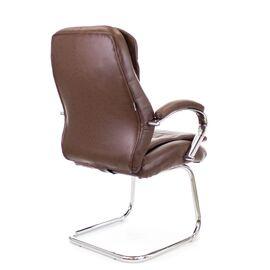 Офисное кресло для посетителей Everprof Valencia CF экокожа коричневый, Цвет товара: Коричневый, изображение 3