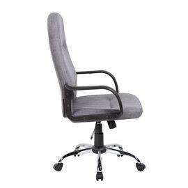 Компьютерное кресло для руководителя Riva Chair 9309-1J Серая ткань, Цвет товара: Серый, изображение 3