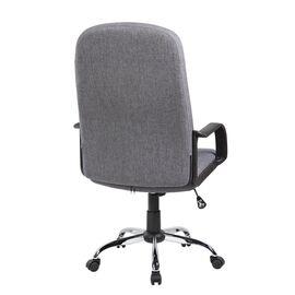 Компьютерное кресло для руководителя Riva Chair 9309-1J Серая ткань, Цвет товара: Серый, изображение 4