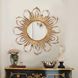 Зеркало настенное в металлической раме Bavaro (Баваро) Art-zerkalo, изображение 2