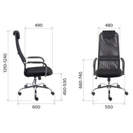 Компьютерное кресло Everprof EP 708 TM Экокожа Черный, изображение 2
