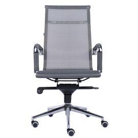 Компьютерное кресло для руководителя Everprof Opera M сетка серый, Цвет товара: Серый, изображение 4