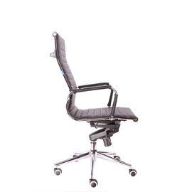Компьютерное кресло для руководителя Everprof Rio M кожа черный, Цвет товара: Черный, изображение 4