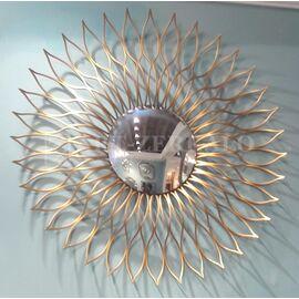 Зеркало-солнце в металлической раме Helios (Гелиос) Art-zerkalo, изображение 3
