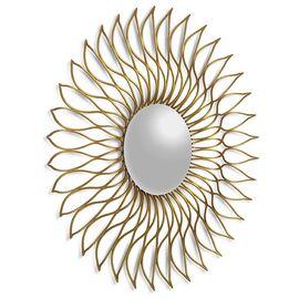 Зеркало-солнце в металлической раме Helios (Гелиос) Art-zerkalo, изображение 2