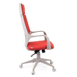 Компьютерное кресло для руководителя Everprof Trio Grey TM Ткань Красный, Цвет товара: Красный, изображение 3