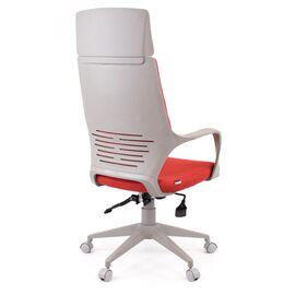 Компьютерное кресло для руководителя Everprof Trio Grey TM Ткань Красный, Цвет товара: Красный, изображение 4