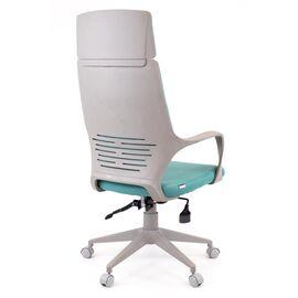 Компьютерное кресло для руководителя Everprof Trio Grey TM Ткань Бирюзовый, Цвет товара: Бирюзовый, изображение 4