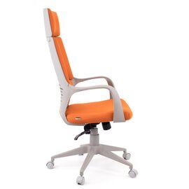Компьютерное кресло для руководителя Everprof Trio Grey TM Ткань Оранжевый, Цвет товара: Оранжевый, изображение 3