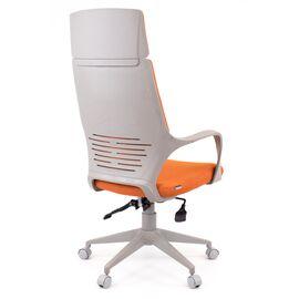 Компьютерное кресло для руководителя Everprof Trio Grey TM Ткань Оранжевый, Цвет товара: Оранжевый, изображение 4