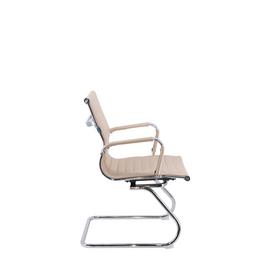 Офисное кресло для посетителей Everprof Leo CF экокожа бежевый, Цвет товара: Бежевый, изображение 4
