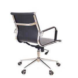Компьютерное кресло Everprof Leo T экокожа черный, Цвет товара: Черный, изображение 5