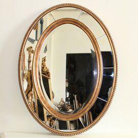 Зеркало настенное овальное в раме Lorena Gold (Лорена) Art-zerkalo, изображение 2