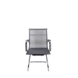 Офисное кресло для посетителей Everprof Opera CF сетка серый, Цвет товара: Cерый, изображение 3