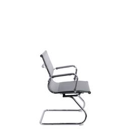 Офисное кресло для посетителей Everprof Opera CF сетка серый, Цвет товара: Cерый, изображение 4