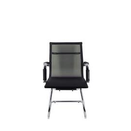 Офисное кресло для посетителей Everprof Opera CF сетка черный, Цвет товара: Черный, изображение 3