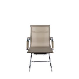 Офисное кресло для посетителей Everprof Opera CF сетка золотой, Цвет товара: Золото, изображение 2