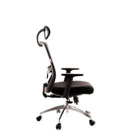 Компьютерное кресло для руководителя Everprof Polo S сетка серый, Цвет товара: Серый, изображение 3