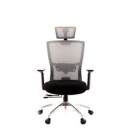 Компьютерное кресло для руководителя Everprof Polo S сетка серый, Цвет товара: Серый, изображение 4