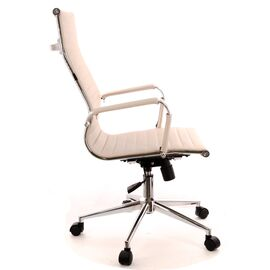 Кресло для руководителя в офис Everprof Rio T экокожа бежевый