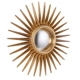 Зеркало-солнце Star Gold (Звезда) Art-zerkalo, изображение 2