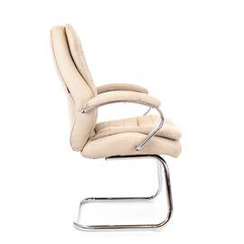 Офисное кресло для посетителей Everprof Valencia CF экокожа бежевый, Цвет товара: Бежевый, изображение 3