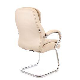 Офисное кресло для посетителей Everprof Valencia CF экокожа бежевый, Цвет товара: Бежевый, изображение 4
