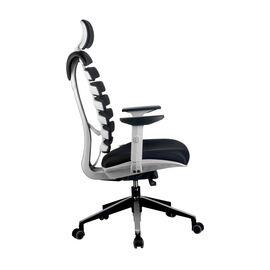 Компьютерное кресло для руководителя Riva Chair Shark Серый пластик/Чёрная ткань (26-28), изображение 3