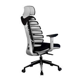 Компьютерное кресло для руководителя Riva Chair Shark Серый пластик/Чёрная ткань (26-28), изображение 4