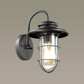 Уличный настенный светильник Helm Черный Odeon Light, изображение 3
