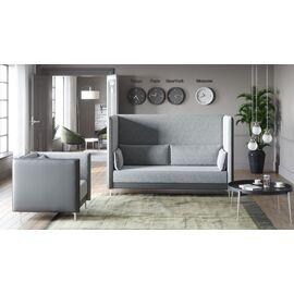 Кресло низкое Графит Н Euroforma (ШхГхВ - 88x91x84 см.), изображение 2