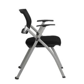Офисное кресло складное для посетителей Riva Chair 462 E Черное, изображение 3