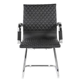 Офисное кресло для посетителей Riva Chair 6016-3 Чёрный (Q-01), Цвет товара: Черный, изображение 2
