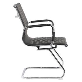 Офисное кресло для посетителей Riva Chair 6016-3 Чёрный (Q-01), Цвет товара: Черный, изображение 3