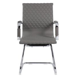 Офисное кресло для посетителей Riva Chair 6016-3 Cерый (Q-022), Цвет товара: Cерый, изображение 2