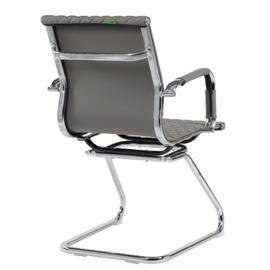 Офисное кресло для посетителей Riva Chair 6016-3 Cерый (Q-022), Цвет товара: Cерый, изображение 4
