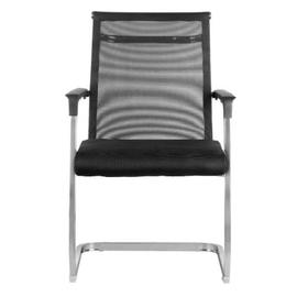 Офисное кресло для посетителей Riva Chair 801E черное, изображение 2
