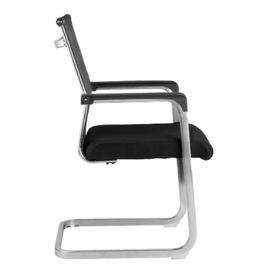 Офисное кресло для посетителей Riva Chair 801E черное, изображение 3