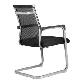 Офисное кресло для посетителей Riva Chair 801E черное, изображение 4