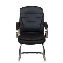 Офисное кресло для посетителей Riva Chair 9024-4 Черный QC-01, Цвет товара: Черный, изображение 2