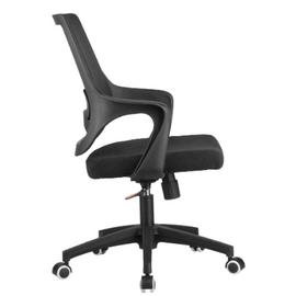 Компьютерное кресло Riva Chair 928 Чёрный кашемир/Чёрный пластик, Цвет товара: Чёрный, изображение 3