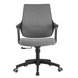 Компьютерное кресло Riva Chair 928 Серый кашемир/Чёрный пластик, Цвет товара: Cерый, изображение 2