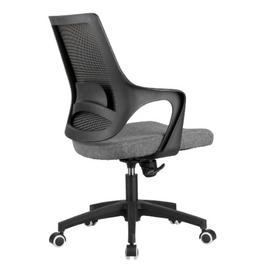 Компьютерное кресло Riva Chair 928 Серый кашемир/Чёрный пластик, Цвет товара: Cерый, изображение 4